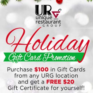 URG Gift Card Promotion