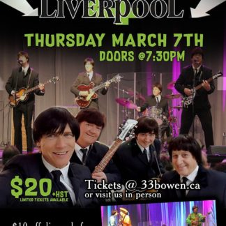 The Liverpool 4 - Thursday March 7th, 2019 at 33 Bowen