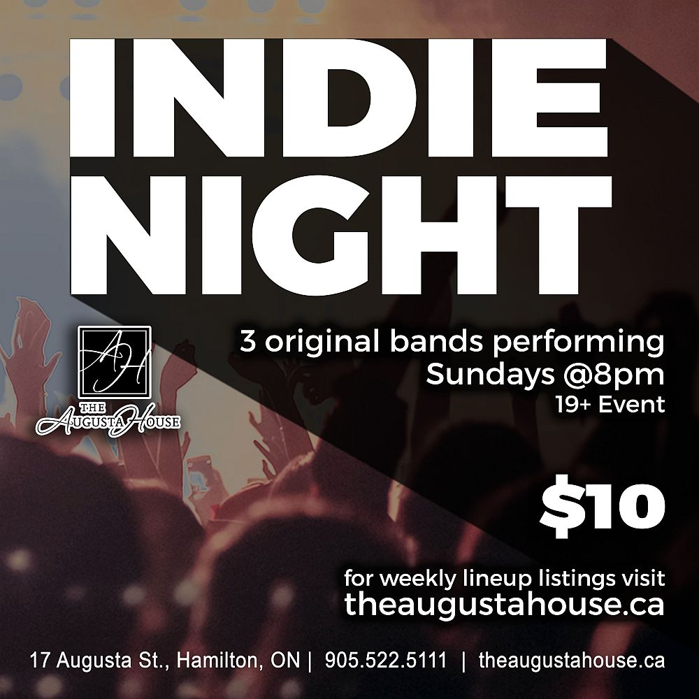 Indie Night Sundays at The Augusta House